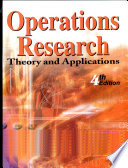 Operations Research:Theory and Applications
