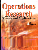 Operations Research Theory And Applications