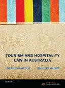 Cover of Tourism and Hospitality Law in Australia