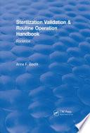 Sterilization Validation and Routine Operation Handbook  2001