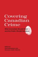 Covering Canadian Crime [Pdf/ePub] eBook