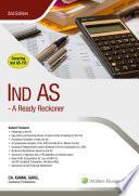 Ind As- A Ready Reckoner, 2E