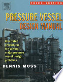 Pressure Vessel Design Manual Book