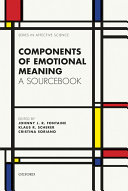 Components of emotional meaning
