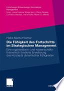 Die Fähigkeit des Fortschritts im Strategischen Management