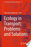 Ecology In Transport Problems And Solutions Book PDF