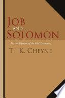 Job and Solomon