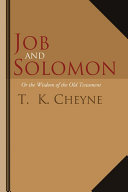 Job and Solomon [Pdf/ePub] eBook