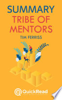 Tribe of Mentors by Tim Ferriss  Summary  Book