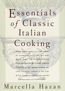 Essentials of Classic Italian Cooking Pdf/ePub eBook