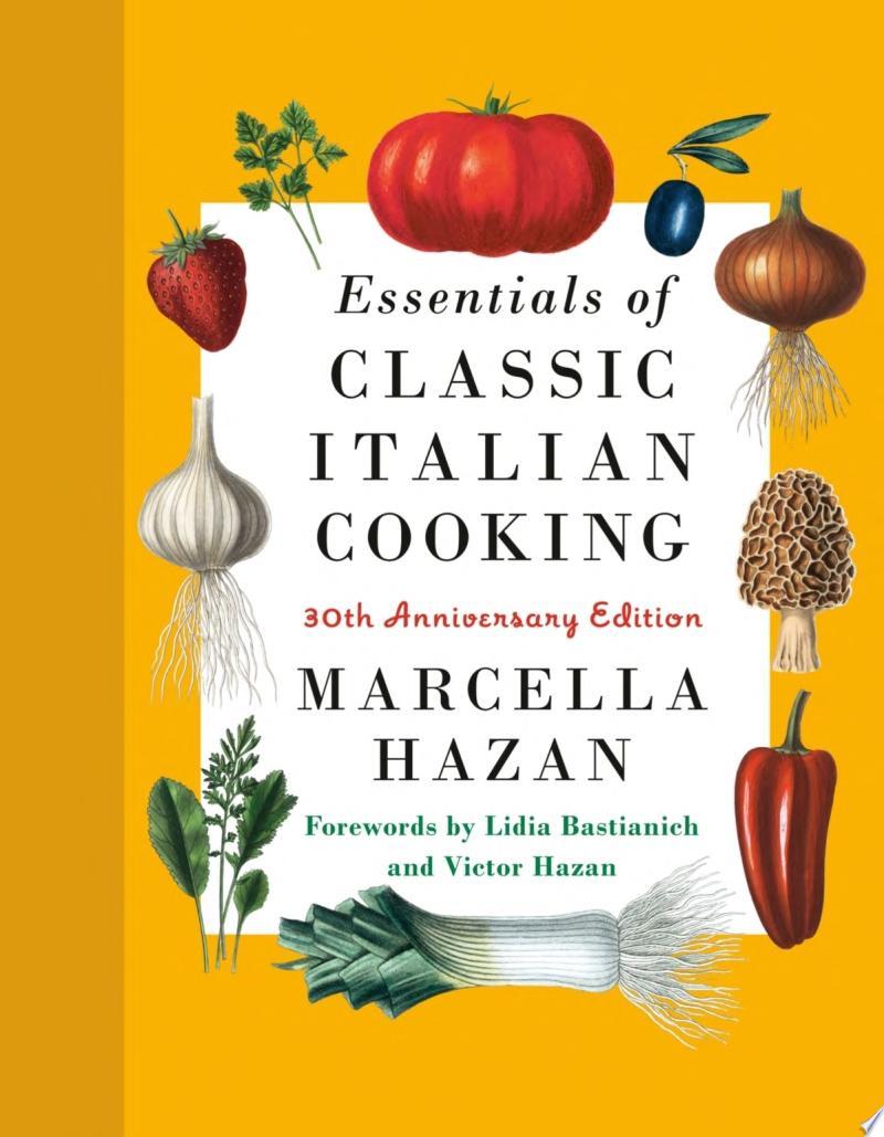 Essentials of Classic Italian Cooking image