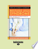 Restless Legs Syndrome  Large Print 16pt