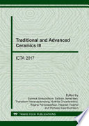 Traditional and Advanced Ceramics III Book