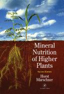 Mineral Nutrition of Higher Plants Pdf/ePub eBook
