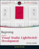 Beginning Microsoft Visual Studio LightSwitch Development