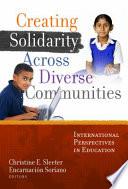 Creating Solidarity Across Diverse Communities