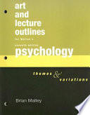 Lecture Outlines-Psychology