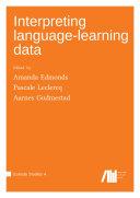 Interpreting language learning data