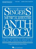 Singer s Musical Theatre Anthology   Volume 4