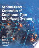 Second-Order Consensus of Continuous-Time Multi-Agent Systems