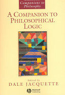 A Companion to Philosophical Logic Book