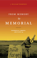 From Memory to Memorial Pdf/ePub eBook