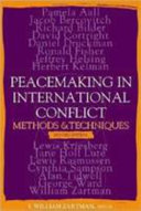 Peacemaking in International Conflict