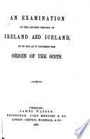 Notes on the Early History of Scotland