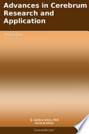 Advances in Cerebrum Research and Application: 2012 Edition Book Online