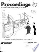 Proceedings Of The Marine Safety Council