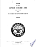 Report Of The Defense Science Board Task Force On Joint Precision Interdiction