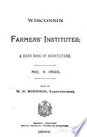 A Hand Book Of Agriculture