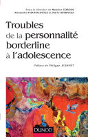 Pdf Troubles de la personnalité borderline à l'adolescence Telecharger