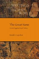 The Great Name Pdf/ePub eBook