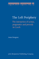 The Left Periphery