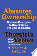 Absentee Ownership Book PDF