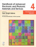 Handbook of Advanced Electronic and Photonic Materials and Devices: Ferroelectrics and dielectrics
