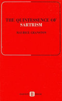 Pdf The Quintessence of Sartrism Telecharger