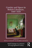 Pdf Gender and Space in British Literature, 1660-1820 Telecharger