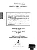 Mennonite Family History