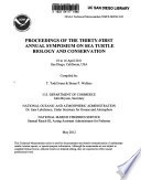 Proceedings of the Thirty-first Annual Symposium on Sea Turtle Biology and Conservation