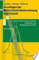 Grundlagen der Wahrscheinlichkeitsrechnung und Statistik