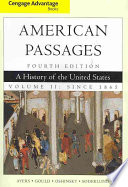 Cengage Advantage Books A History In The United States Volume Ii Since 1865 Book