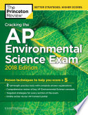 Cracking the AP Environmental Science Exam  2018 Edition Book