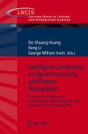 Intelligent Computing in Signal Processing and Pattern Recognition