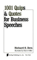 1001 Quips   Quotes for Business Speeches