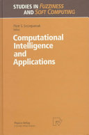 Computational Intelligence and Applications