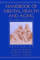 Handbook of Mental Health and Aging