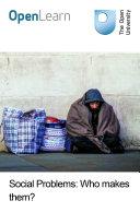 Social problems  Who makes them