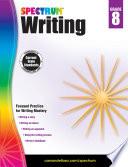 """Spectrum Writing, Grade 8"" by Spectrum"